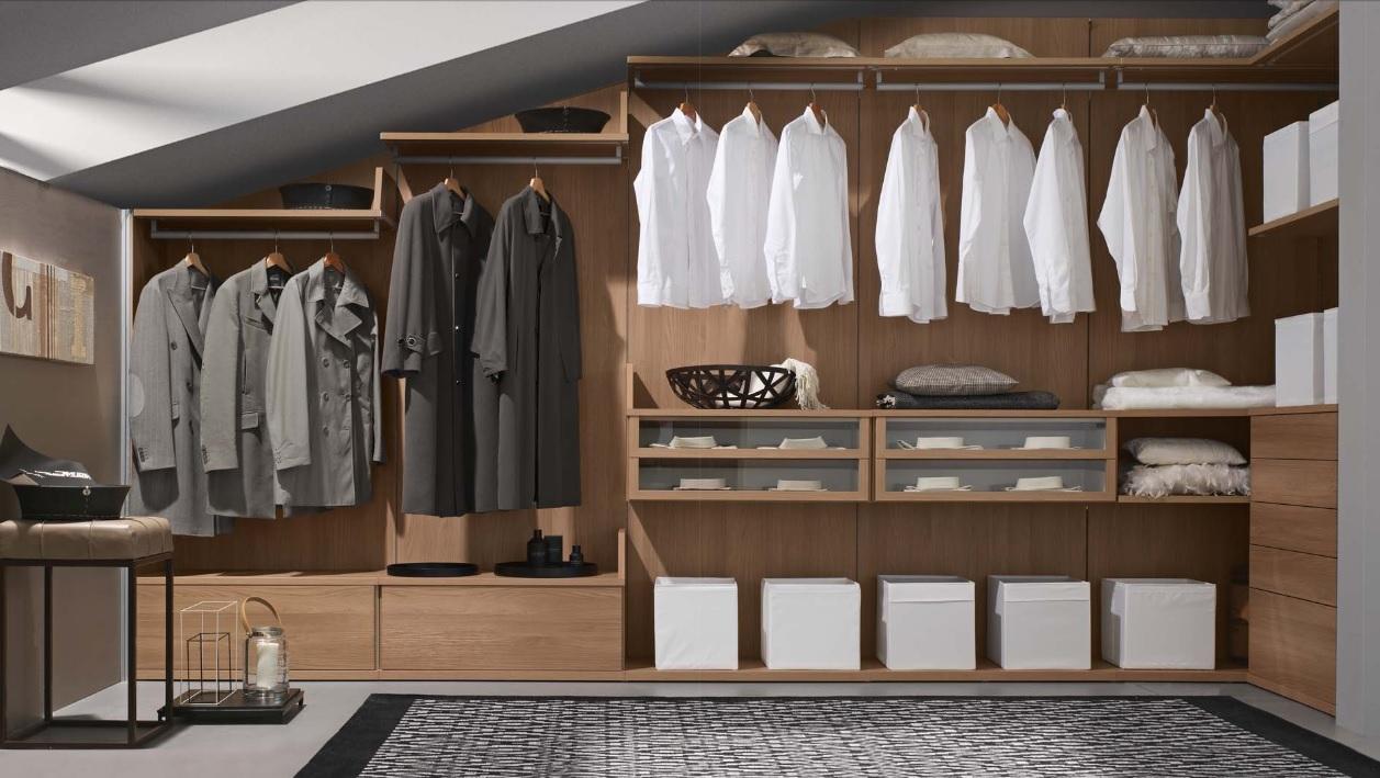 Corazzin, cabine armadio eleganti e razionali   Arredamenti