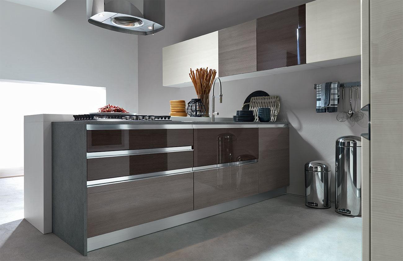 Vela integrazione cucina living arredamenti ascani - Cucine direttamente dalla fabbrica ...
