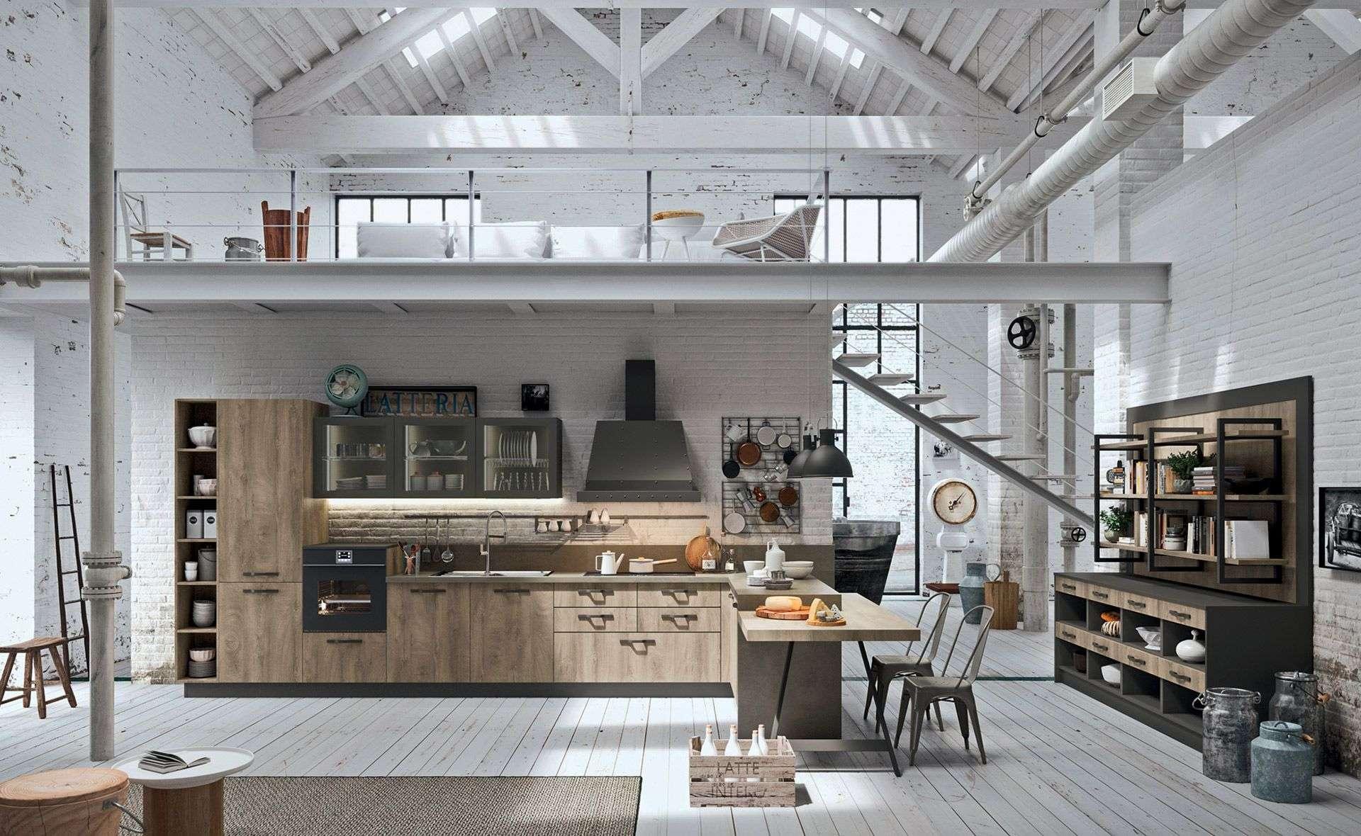 Cool cucine industrial chic fw81 pineglen - Cucine astra opinioni ...