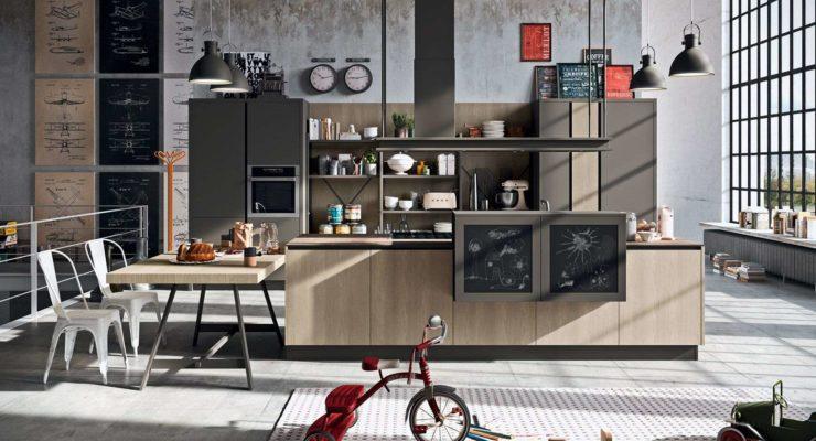 L\'Industrial Chic Astra Cucine | Arredamenti Ascani